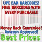2,500 UPC Numbers Barcodes Bar Code Number 2500 EAN Amazon BEST PRICE AROUND!!!