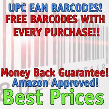 10,000 UPC Numbers Barcodes Bar Code Number 10000 EAN Amazon BEST PRICE AROUND!!
