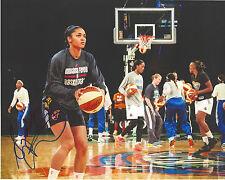 SYDNEY CARTER Signed 8 x 10 photo WNBA Atlanta Dream Basketball TEXAS A&M Aggies