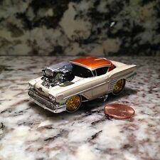 MUSCLE MACHINES 58 CHEVY IMPALA DIE CAST CAR 1/64 1958 CHEVROLET