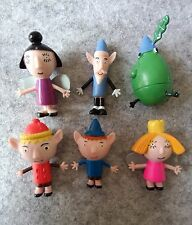 6 Pcs/set  Ben and Holly's Little Kingdom Figurines Loose Figures