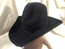 Resistol 4X black western Montana Pinch big and bold 7 1/2
