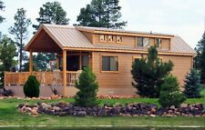 CABIN TINY HOUSE 2 BED 1-1/2 BATH MOVABLE PRE-FAB FOR YOUR PROPERTY/LOT FURNISHD