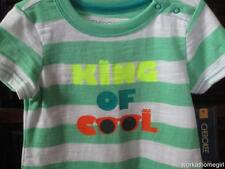 NWT/Cherokee Infant Boys Romper/3-6 Mos/KING OF COOL/Brand New/So Cute/SHADES