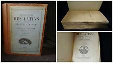 Theatre complet Des Latins comprenant Plaute, Tèrence et Sénèque le tagique 1885