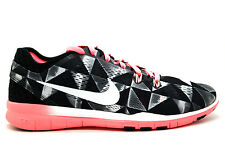 Womens Nike Free 5.0 TR FIT Print Running Trainers UK5.5- 704695 006 EUR 38.5