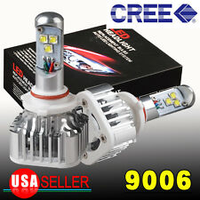 YITA- 8000LM HID 6000K  White 9006 HB4 Cree 60W LED Headlight Kit 9012 bulbs US