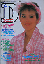 DOLLY 347 1985 Tears For Fears Cristiano De André David Cassidy Burt Reynolds