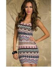 Women's Bodycon Summer Casual Party Evening Cocktail Lace Short Mini Dress M A29