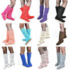 Fashion Womens 30cm Long Knitting Casual Boot Lady Breathable Hollow Shoes US5-9