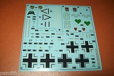 AIRFIX  MESSERSCHMITT Bf 109 F 04101 1:48 scale decals