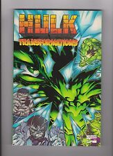 "1996 Marvel ""Hulk Transformations"" Trade Paperback Comic Book"