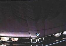 BMW RANGE 320 520i 633 732i  BROCHURE POSTER PART 1980's