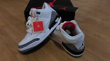 Nike Air Jordan 3 (III) ciment blanc uk 8 new in box - 100% authentique ds