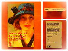 La malédiction du clan Stewart. Gladys Mitchell- Grands détectives-10/18 N° 3345