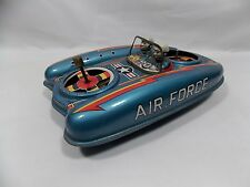 1950s FLYING AIR FORCE JEEP - DAIYA - JAPAN Tin Toys Vehicles SPACE
