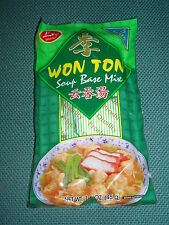 Won Ton Soup Base Mix 5 Sachets Chinese Soup Broth Noodle Dish