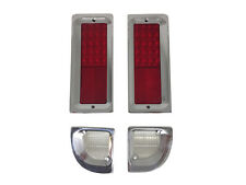 1967-1972 Chevy Truck GMC Billet Tail Light bezels and led Tail light kit