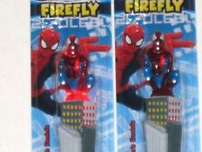 2~ Spider-Man Light Up Timer Toothbrush - Spiderman Lights up while you brush!