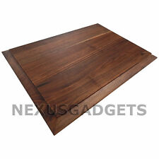 Tomo Edge Grain Solid WALNUT Wood Cutting Board Chopping Block Reversible Large
