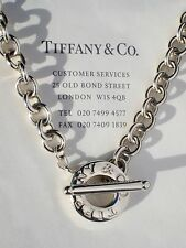 Tiffany & Co Plata esterlina Toggle Collar