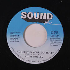 EDDIE MOBLEY: Stick It In Your Ear Hole / Tired Of The Single Life 45 Funk