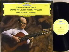 DGG JS Bach NARCISO YEPES Works for Lute - Volume I 2530 461