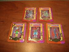 5 Digimon Taco Bell cards Machinedramon-Piedmon-Myotismon-Metalseadramon