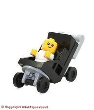 LEGO City MiniFigure: Baby (in Black Stroller)  Set 60134