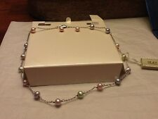 New freshwater pearl set Honora necklace 15inch and earrings