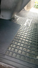Fiat Talento 2016 on. Tailored Rubber Mats. Front & Rear for Crew Van Model