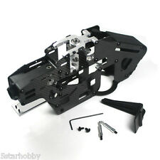 Carbon Fiber Main Frame Set For Trex T-rex 450 PRO Helicopter