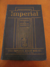 Vintage Antique 1930 Imperial Products Essential Items of Brass and Bronze