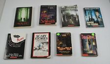 Lot Of 8 Scary Young Adults Books Trick Or Treat Everlost Baby Sitter