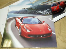 FERRARI 458 SPIDER brochure hardcover Prospekt catalogue 95993352