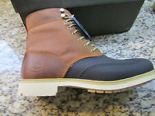 NEW TIMBERLAND STORMDUCK TAN BOOTS ANKLE BOOTS MENS 9 WATERPROOF WINGTIP