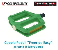 0656 - CP Pedali VP-Comp. Freeride Easy Verde per Bici 27,5-29 MTB Mountain Bike