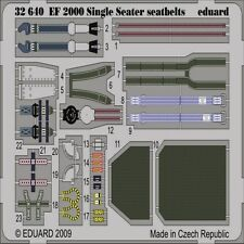 EDUARD MODELS 1/32 Aircraft- EF2000 Seatbelts for TSM (Painted) (D) EDU32640-W