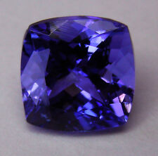 NATURAL 3.56ct!!  TANZANITE EXPERTLY FACETED IN GERMANY +CERTIFICATE INCLUDED