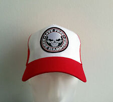 Trucker Cap,Mütze,Hardcore,Red&White,Live Free,Biker,Auto,81,V8,Harley