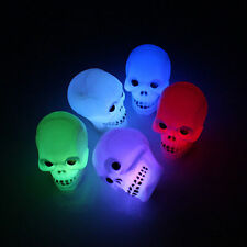 New Creative Skull Grimace Flash LED Night Light Lamp Halloween Party Decoration
