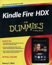 Kindle Fire HDX for Dummies® by Nancy C. Muir (2013, Paperback (FREE 2DAY SHIP))