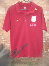 Aston Villa Football Club 32red. COM Claret Camisa Polo Talla M VGC