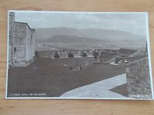 VINTAGE POSTCARD - STIRLING CASTLE - THE SPUR BATTERY