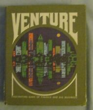 Venture Gamette 3M Company Finance Big Business Card Game 1970   B4
