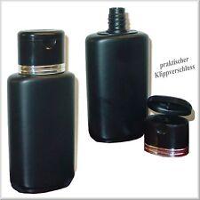 10 Kunststoff-Flaschen - 200ml -  für Lotionen - Gel's - schwarz - leer- NEUl