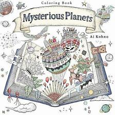 The Mysterious Planets : A Coloring Book by Ai Kohno (2016, Paperback)