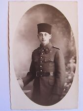 12C1 CPA CARTE PHOTO DE SOLDAT 63 e R.A.A RÉGIMENT ARTILLERIE AFRIQUE WWII 39/45