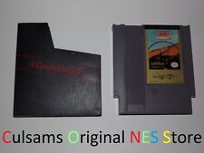 ORIGINAL NINTENDO NES ULTIMATE AIR COMBAT GAME, SLEEVE & 30 DAY GUARANTEE