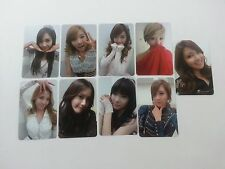 SNSD 3rd Mr.Taxi All Member Official Photocard set K-POP 9p Girls' generation